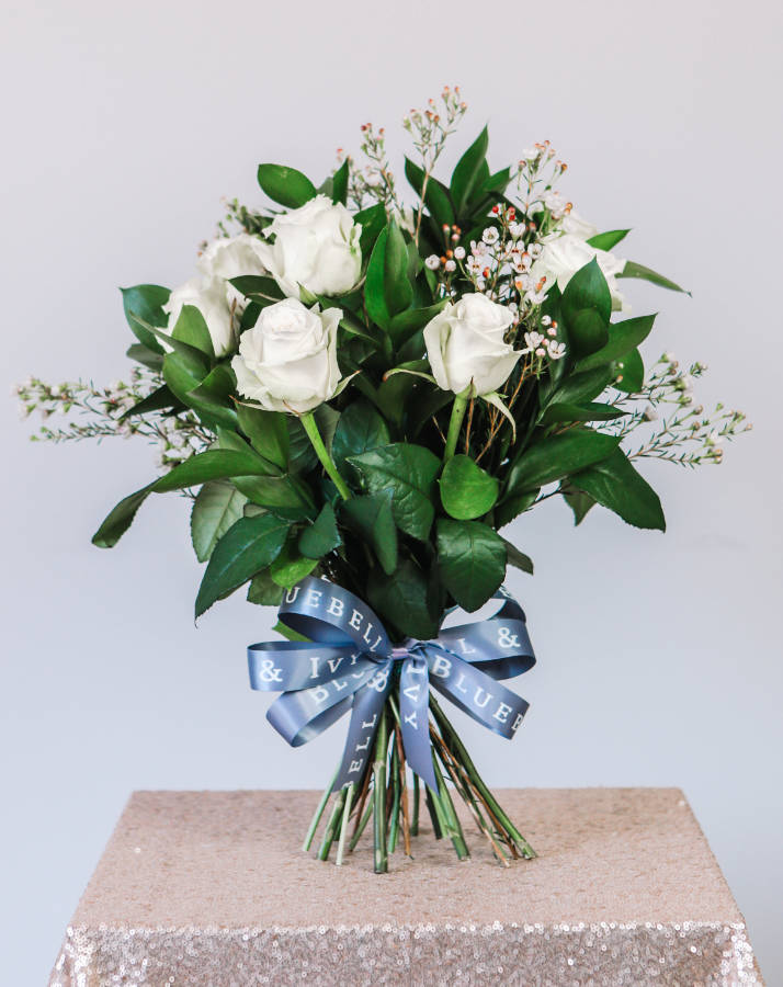 Bluebell and Ivy - Professional Florist, Ulverston - Juliet, White roses