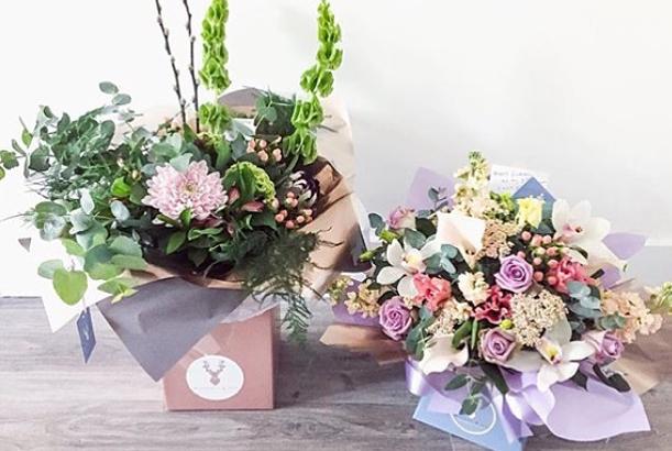 bluebell & ivy 1 one anniversary - florist ulverston cumbria